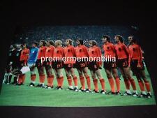 Holanda 1974 Copa del Mundo final Johan Cruyff Johan Neeskens Johnny Rep Ruud Krol