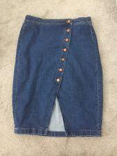 Madewell Asymmetrical Jean Skirt Sz. 29 SOLD OUT