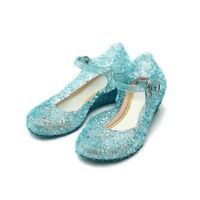 C. &. C Sandali di Gelatina da Bambina con Glitter (2 UK/35 EUR, Cristallo)
