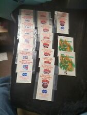 11 Vintage 1975-76 NY Knicks Schedules 8 Rangers Schedules & 2 Baseball Guides