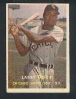 1957 Topps #85 Larry Doby EX+ White Sox 121655