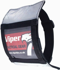 Viper Security ID Doorman Document Card Pass Badge Armband Holder Pouch Black