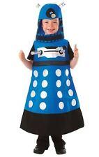 NEW AUTHENTIC UK BBC DR DOCTOR WHO BLUE STRATEGIST DALEK COSTUME BOYS CHILD 3 4