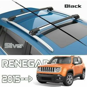Jeep Renegade Roof Rack Cross Bars Air I Silver