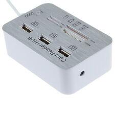 Card Reader Adapter 3 USB Hub Camera Connection Combo for Apple iPad 4 Air IOS8