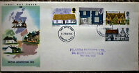 GB 1970 British Architecture FIRST DAY COVER  london