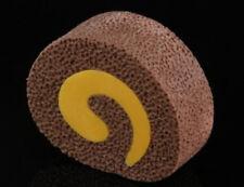 IWAKO Dessert 1 Small Chocolate Roll Cake Take-Apart Rubber Eraser Made in Japan
