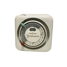 Intermatic Time-All Indoor Plug In Timer Tniii White 2 On/2-Off Key