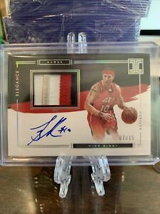 2020-2021 Panini Impeccable Elegance Patch Auto Mike Bibby /15
