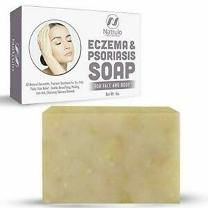 Eczema Soap Bar for Face and Body – All Natural Dermatitis, Psoriasis...