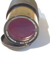 Vivitar Series 1 (Canon FD) 70-210mm f/3.5 Macro BL FD Mount Lens **FUNGUS**