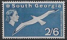 SOUTH GEORGIA SG12 1963 2/6 BLUE MNH