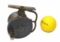 "Malloch of Perth Patent side cast reel smallest size 2-5/8"" 4 collector"