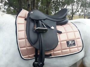 Rose Gold Saddle Pad - Dressage