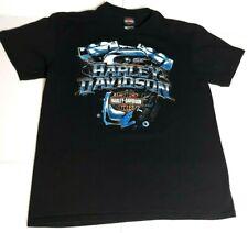 Harley Davidson Of Rommel T Shirt Large Annapolis MARYLAND Motorcycles Black