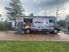 Low Mileage 26 Gmc Diesel Food Truck Commercial Mobile Kitchen For Sale In Fl