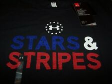 Under Armour Freedom Stars & Stripes S/s Shirt Black Women's Large