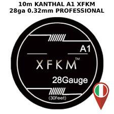 KANTHAL A1 28ga 0.32mm 30ft XFKM PROFESSIONAL WHIRE RDA RBA RTA RDTA RESISTENZA
