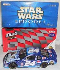 1999 JEFF GORDON #24 STAR WARS EPISODE I / PEPSI 1:24 RCCA CLEAR WINDOW BANK