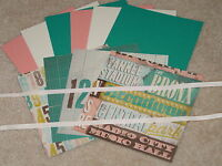 STAMPIN UP SOHO SUBWAY CARD KIT RIBBON *6* BRAND NEW 2013-2014 CATALOG