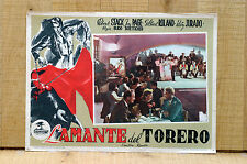 L'AMANTE DEL TORERO fotobusta poster Corrida The Bullfighter and the Lady B47