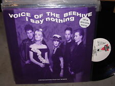 VOICE OF THE BEEHIVE i say nothing ( rock ) - limited edition -