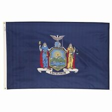 5x8 ft NEW YORK The Empire State OFFICIAL STATE FLAG Outdoor Nylon Made in USA