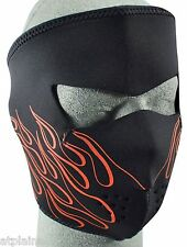MASQUE NEOPRENE ZAN HEADGEAR ORANGE FLAME Taille unique