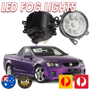 HOLDEN VE FULL LED FOG LAMPS, SV6 SS SSV CALAIS WM WN CAPRICE STATESMAN 06-10