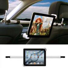 Car Seat Headrest Phone Holder 360° Rotating Dual Mount For iPad Tablet Kit