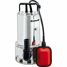 Einhell Schmutzwasserpumpe GC-DP 1020 N, Tauch- / Druckpumpe, edelstahl