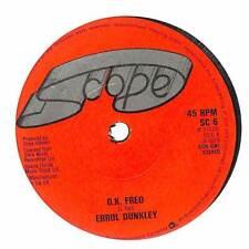 "Errol Dunkley - O.K. Fred - 7"" Vinyl Record Single"