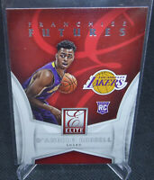 2015-16 Panini Donruss Elite Deangelo Russell Franchise Futures Rookie Card #2