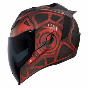 Icon Airflite Unisex Blockchain Motorcycle Riding Street Racing Fullface Helmet