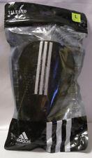 New Pair Adidas Performance 11Lesto Black & Silver Soccer Shinguards Large