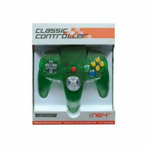 GREEN Controller Compatible with Nintendo 64