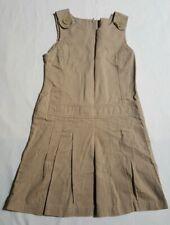 Oshkosh Bigosh Girl's Jumper Dress Uniform * Color*Tan *Size* 7