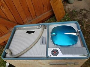 Vintage, retro Hoovermatic twin tub washing machine, model 3174