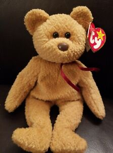 Ty Beanie Baby Curly 5th Gen Hang Tag 6th Gen Tush Tag Error Tag PE Pellets EUC