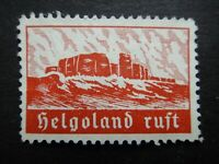 Germany Nazi 1938 1940 ? Stamps MNG Rocky Cliffs of Heligoland Third Reich WWII