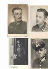 4 Soldatenbilder 2 Weltkrieg