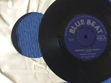 """Derrick Morgan. Sweeter Than Honey/You Never Know. Bluebeat label Early Ska 7"""""""