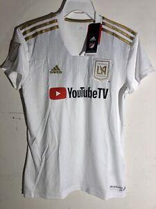 Adidas Women's MLS Jersey Los Angeles Los Angeles FC  LAFC White sz S