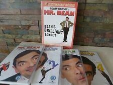 MR BEAN - BEAN'S BRILLIANT BOXSET DVD - DIGITALLY REMASTERD 1 - 4
