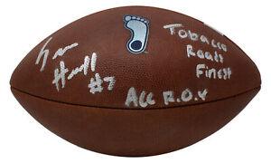 Sam Howell Signed North Carolina Tar Heels Nike Vapor Football 2x Insc JSA