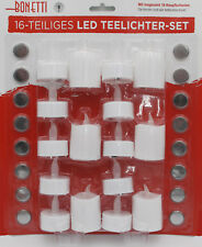 16 tlg. LED Teelichter Set elektrische Teelichter LED Kerzen Teelicht Kerze