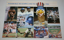 Vintage 1984 Los Angeles Dodgers Season Tickets Advertisment with Auto