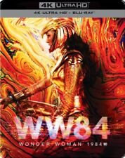 Wonder Woman 1984 Limited Edition Steelbook 4K UHD + Blu Ray