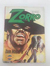ZORRO #4 - 1980s 80s - Foreign Comic Book - VERY RARE - 5.5 FN-