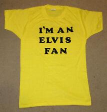 Elvis Presley Vintage S Unisex T Shirt I'm An Elvis Fan RARE